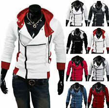 Stylish Creed Hoodie Cool Men's Cosplay For Assassins Jacket Halloween Costume