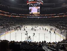 2 Pittsburgh Penguins vs New York Islanders Lower Level Aisle Tickets 3/24