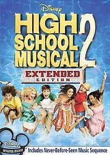 High School Musical 2 (DVD 2007 Extended ) RARE ZAC EFRON BRAND NEW W SLIPCOVER