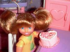 """Rement Valentines """"Be Mine"""" Cake fits Fisher Price Loving Family Dollhouse"""