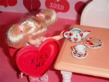 Rement Valentines Tea Set and Cookies fits Fisher Price Loving Family Dollhouse