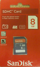 Sandisk 8GB SD SDHC Class 4 Memory Card