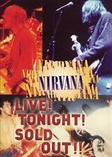 NIRVANA Live! Tonight! Sold Out!! DVD All Zone