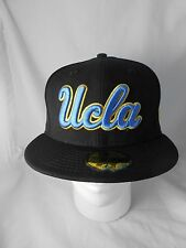 UCLA Bruins 59FIFTY FITTED HAT/CAP New Era Black Blue & Gold NCAA UC Los Angeles