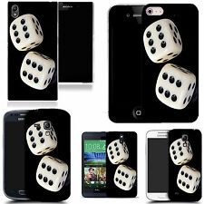 art case cover for various Mobile phones - dice silicone