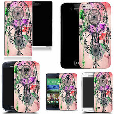 art case cover for various Mobile phones - pink dreamcatcher silicone