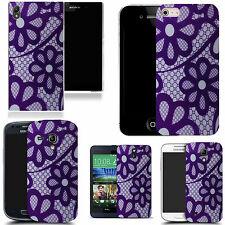 gel rubber case cover for majority Mobile phones - gentle daisy silicone
