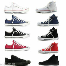 Women Lady ALL STARs Chuck Taylor Ox Low High Top shoes casual Canvas Sneakers B