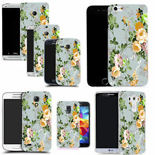 motif case cover for various Popular Mobile phones    - yellow rose