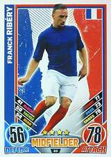MATCH ATTAX EURO STARS 2012 England Edition - FRANCE - selection - TOP MINT