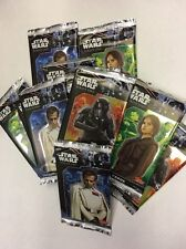 TOPPS Star Wars ROGUE ONE Trading Card Game 12 PACKETS OF CARDS ONLY Cheapest