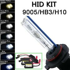 HB4 9006 9005 H10 HB3 High or Low Beam Xenon HID Replacement Bulb Light Kit NN
