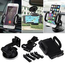 Universal 360°Rotating Car Windshield/Air Vent Mount Holder Stand for Smartphone