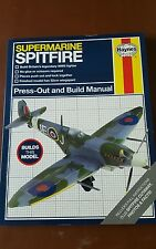 HAYNES MANUAL SPITFIRE BUILD YOUR OWN MODEL PLANE