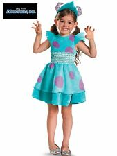 Monsters Inc. Deluxe Sulley Girl Toddler Costume