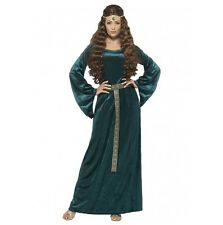 Womens Medieval Renaissance Game of Thrones Costume -12,14,16,18,20,22 Plus Size
