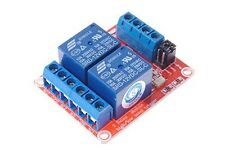 SMAKN® DC 12V 2CH 2 Channel Isolated Optocoupler High/Low Level Trigger Relay