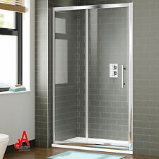 Brand New Wall to Wall Framed Sliding Door Shower Screen Enclosure