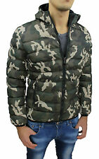 JACKET MAN'S WINTER COAT SLIM FIT GREEN MILITARY CAMOUFLAGE JACKET JACKET BOMBER