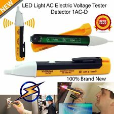 GOOD! AC Non-Contact Electric Voltage Detector Tester Test Pen 90~1000V LCD Hot