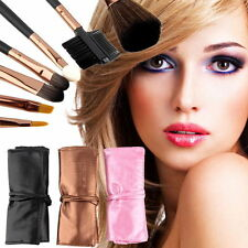 7pcs Professional Cosmetic Make Up Makeup Brushes Brush Set Kit Travel Case