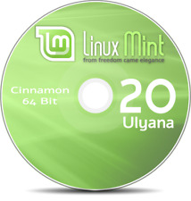 Linux Mint 18 Cinnamon Live DVD 32-bit or 64-bit for Desktop or Laptop