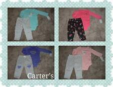 Carters Baby Girl Clothes NWT Outfit Set Size Newborn 3 6 9 12 18 24 Months U-pk