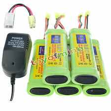 5X9.6V 2800mAh Ni-MH rechargeable battery pack NEW+charger