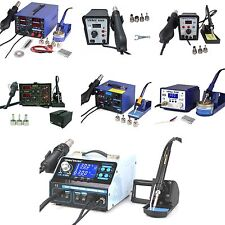 YIHUA Solder Station SMD Rework Soldering Station Hot Air Gun Station Iron 852