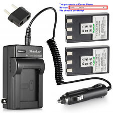 Kastar Battery and Normal Charger Kit for Canon NB-1L PowerShot S500 IXUS V3 IXY