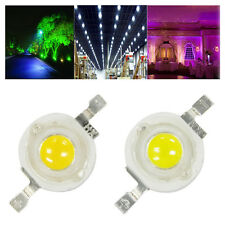1W/3W LED Light Lamp Bulb Beads Cool White/Warm White High Power Durable 10PCS