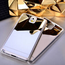 Luxury Ultra-thin Soft Silicone TPU Mirror Case Cover Skin for Huawei P8 P9 LITE
