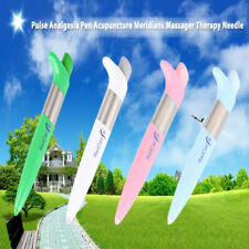 Pulse Analgesia Pen Acupuncture Meridians Massager Therapy Needle Pain Relief