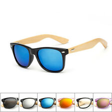 Bamboo Sunglasses Wooden Wood Mens Womens Retro Vintage Summer Glasses Eyewear