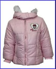 """Baby Girl Official Disney """"Minnie Mouse""""  Fully Lined Hooded Padded Coat BNWT"""
