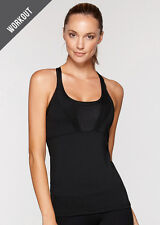NEW Womens Lorna Jane Activewear Axis Excel Mesh Tank