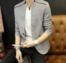 HOT SALE Mens One Buttons Slim Fit 4Colors Stylish Jackets Wedding Coats Size