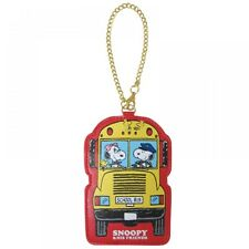 PEANUTS SNOOPY Print ID Pass Card Case Holder Jacket Purse Bus from Japan T4882