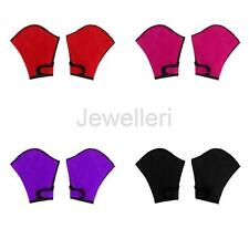 Unisex Water Sports Fingerless Webbed Swimming Gloves Snorkeling Paddles