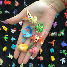 144 charaters Mixed Lots Pokemon Pikachu Monster Mini Random Pearl Figures Toy
