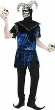 Smiffy's Corrupt Court Jester Adult Fancy Dress Halloween Skeleton Custume