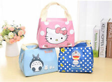Hellokitty Thermal Picnic Cooler Insulated Portable Lunch Box Bag Travel Kids l9