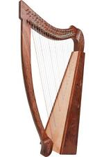 Roosebeck 22 String Heather Celtic Folk Harp - 4 designs to choose from