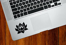 "TP - Lotus Flower D1 - Trackpad | Tablet Vinyl Decal © YYDC (2""w x 2""h)(COLORS)"