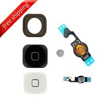 Replacement Home Button With Flex Cable and Rubber OEM For iPhone 5