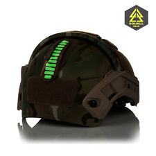 Helmet Mounted IR Marker Combat Tactical Glint System Identification Friend Foe