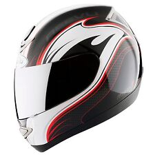 Reevu Msx 1 Rear View Helmet Red Graphic