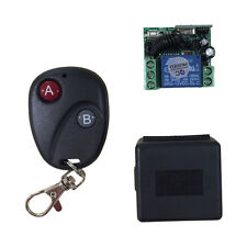 Relay DC12V 7A 1CH Wireless Remote Control Switch Transmitter Receiver System HR