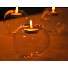 New Crystal Glass Candle Holder Wedding Bar Party Dinner Decor Candlestick New