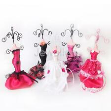 Dress Mannequin Earrings Bracelet Necklace Jewelry Display Organizer Rack Stand